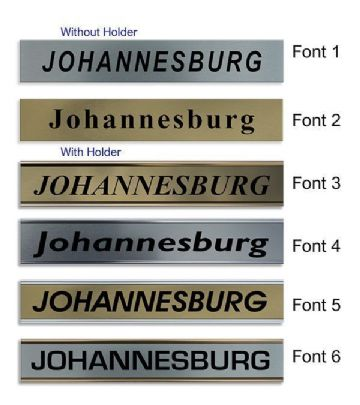 Johannesburg Clock Name Plate |World Time Zone City Wall clocks Sign custom Plaque